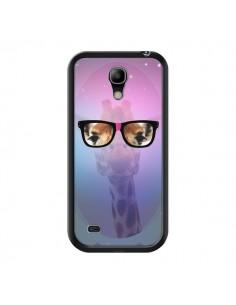 Coque Girafe Geek à Lunettes pour Samsung Galaxy S4 Mini - Aurelie Scour