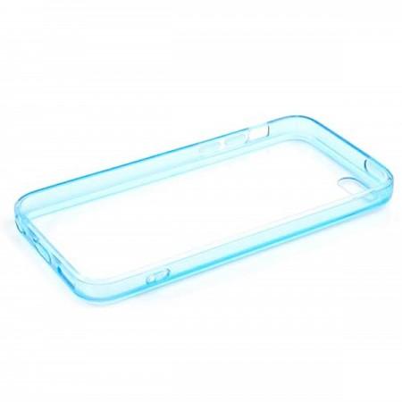 Coque style Bumper avec arrière transparent pour iPhone 5C