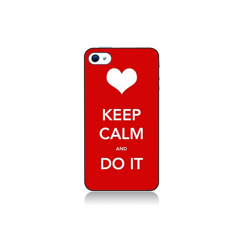 Coque Keep Calm and Do It pour iPhone 4 et 4S