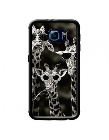Coque Girafe Swag Lunettes Familiy Giraffe pour Samsung Galaxy S6 - Asano Yamazaki