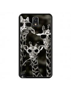 Coque Girafe Swag Lunettes Familiy Giraffe pour Samsung Galaxy Note III - Asano Yamazaki