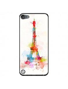 Coque Paris Tour Eiffel Muticolore pour iPod Touch 5 - Asano Yamazaki
