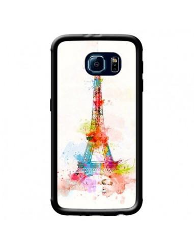 Coque Paris Tour Eiffel Muticolore pour Samsung Galaxy S6 - Asano Yamazaki