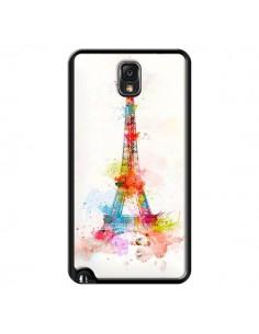 Coque Paris Tour Eiffel Muticolore pour Samsung Galaxy Note III - Asano Yamazaki