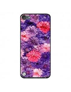 Coque Fleurs Violettes Flower Storm pour iPod Touch 5 - Asano Yamazaki