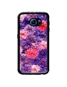 Coque Fleurs Violettes Flower Storm pour Samsung Galaxy S6 - Asano Yamazaki