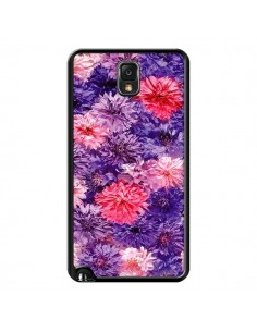 Coque Fleurs Violettes Flower Storm pour Samsung Galaxy Note III - Asano Yamazaki