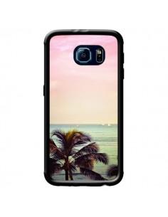 Coque Sunset Palmier Palmtree pour Samsung Galaxy S6 - Asano Yamazaki