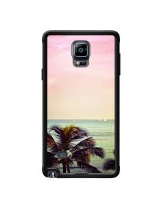 Coque Sunset Palmier Palmtree pour Samsung Galaxy Note 4 - Asano Yamazaki