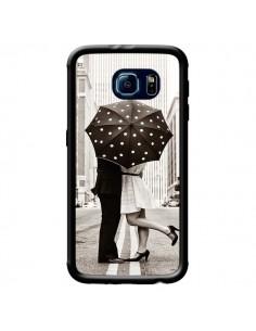 Coque Secret under Umbrella Amour Couple Love pour Samsung Galaxy S6 - Asano Yamazaki