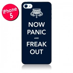 Coque Now Panic and Freak Out pour iPhone 5