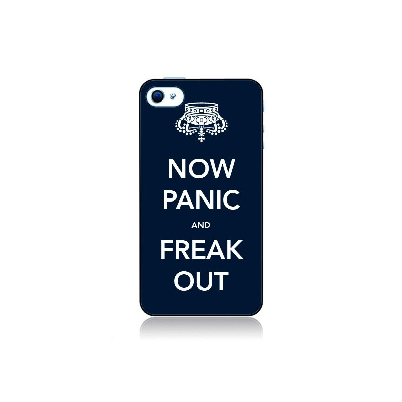Coque Now Panic and Freak Out pour iPhone 4 et 4S