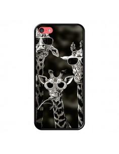 Coque Girafe Swag Lunettes Familiy Giraffe pour iPhone 5C - Asano Yamazaki