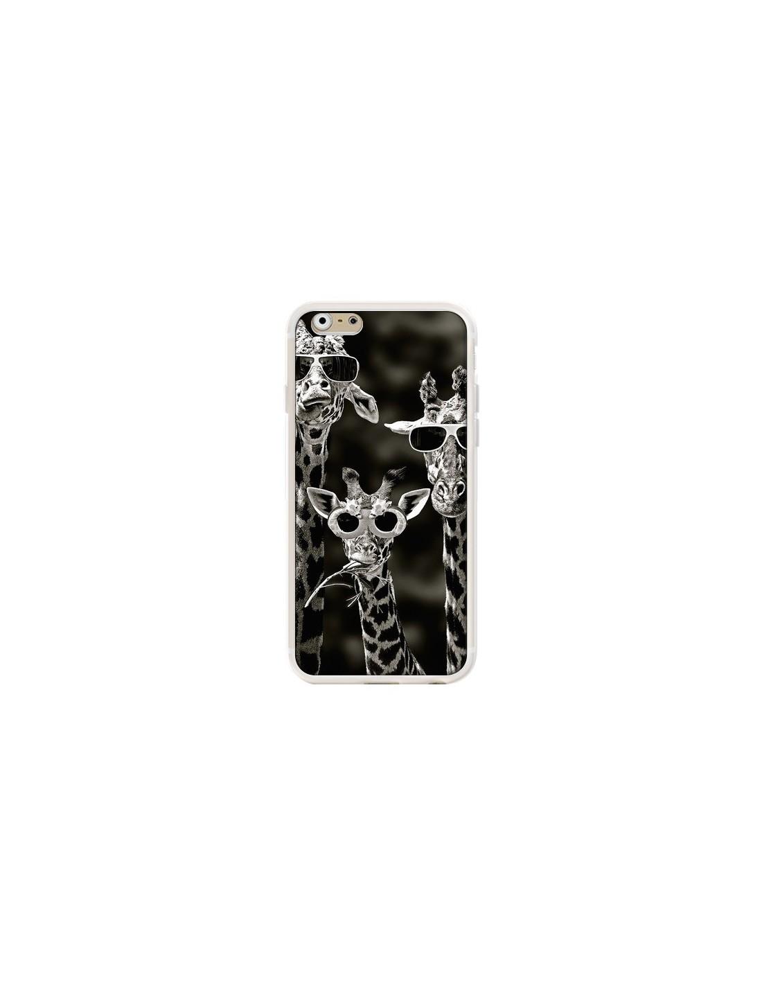 coque iphone 6 silicone girafe
