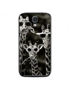 Coque Girafe Swag Lunettes Familiy Giraffe pour Samsung Galaxy S4 - Asano Yamazaki
