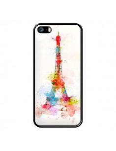 Coque Paris Tour Eiffel Muticolore pour iPhone 5 et 5S - Asano Yamazaki