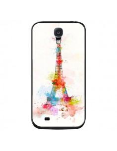 Coque Paris Tour Eiffel Muticolore pour Samsung Galaxy S4 - Asano Yamazaki