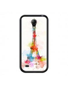 Coque Paris Tour Eiffel Muticolore pour Samsung Galaxy S4 Mini - Asano Yamazaki