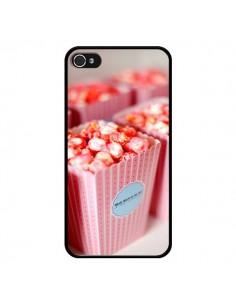 Coque Punk Popcorn Rose pour iPhone 4 et 4S - Asano Yamazaki