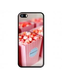 Coque Punk Popcorn Rose pour iPhone 5 et 5S - Asano Yamazaki