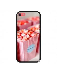 Coque Punk Popcorn Rose pour iPhone 5C - Asano Yamazaki