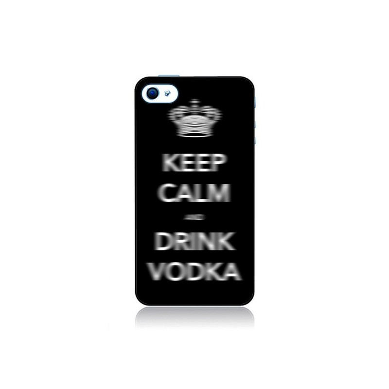 Coque Keep Calm and Drink Vodka pour iPhone 4 et 4S