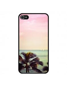 Coque Sunset Palmier Palmtree pour iPhone 4 et 4S - Asano Yamazaki