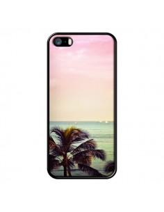 Coque Sunset Palmier Palmtree pour iPhone 5 et 5S - Asano Yamazaki