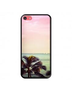 Coque Sunset Palmier Palmtree pour iPhone 5C - Asano Yamazaki