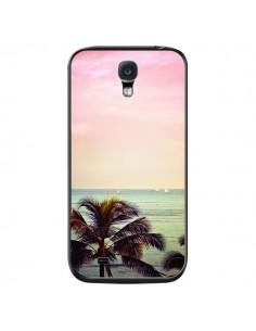 Coque Sunset Palmier Palmtree pour Samsung Galaxy S4 - Asano Yamazaki