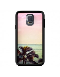 Coque Sunset Palmier Palmtree pour Samsung Galaxy S5 - Asano Yamazaki