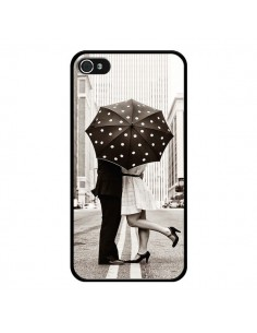 Coque Secret under Umbrella Amour Couple Love pour iPhone 4 et 4S - Asano Yamazaki