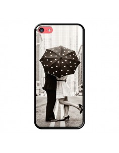 Coque Secret under Umbrella Amour Couple Love pour iPhone 5C - Asano Yamazaki