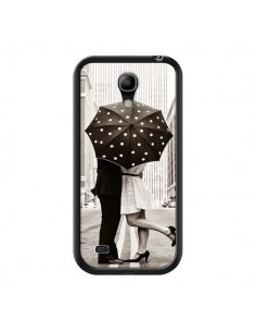 Coque Secret under Umbrella Amour Couple Love pour Samsung Galaxy S4 Mini - Asano Yamazaki