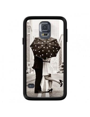 Coque Secret under Umbrella Amour Couple Love pour Samsung Galaxy S5 - Asano Yamazaki