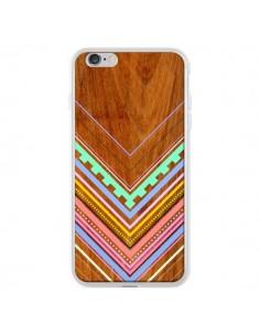 Coque Azteque Arbutus Pastel Bois Aztec Tribal pour iPhone 6 Plus - Jenny Mhairi