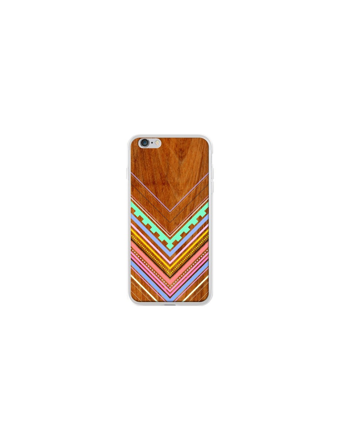 coque azteque arbutus pastel bois aztec tribal pour iphone. Black Bedroom Furniture Sets. Home Design Ideas