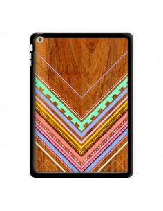 Coque Azteque Arbutus Pastel Bois Aztec Tribal pour iPad Air - Jenny Mhairi
