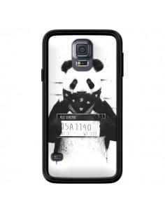Coque Bad Panda Prison pour Samsung Galaxy S5 - Balazs Solti