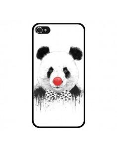 Coque Clown Panda pour iPhone 4 et 4S - Balazs Solti