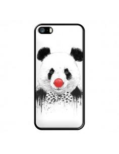 Coque Clown Panda pour iPhone 5 et 5S - Balazs Solti