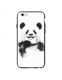Coque Funny Panda Moustache Movember pour iPhone 6 - Balazs Solti