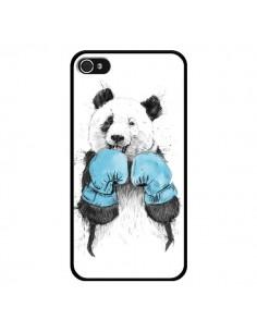 Coque Winner Panda Boxeur pour iPhone 4 et 4S - Balazs Solti