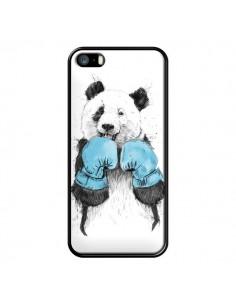 Coque Winner Panda Boxeur pour iPhone 5 et 5S - Balazs Solti