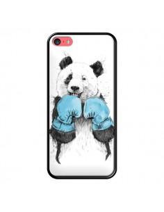 Coque Winner Panda Boxeur pour iPhone 5C - Balazs Solti