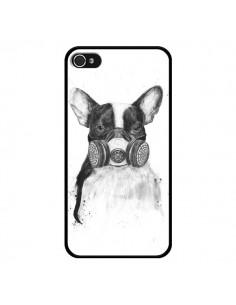 Coque Tagueur Bulldog Dog Chien Big City Life pour iPhone 4 et 4S - Balazs Solti