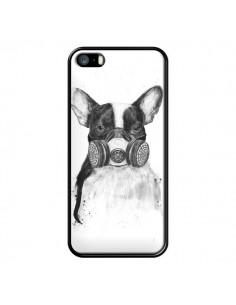 Coque Tagueur Bulldog Dog Chien Big City Life pour iPhone 5 et 5S - Balazs Solti