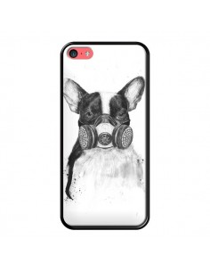 Coque Tagueur Bulldog Dog Chien Big City Life pour iPhone 5C - Balazs Solti