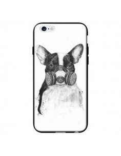 Coque Tagueur Bulldog Dog Chien Big City Life pour iPhone 6 - Balazs Solti