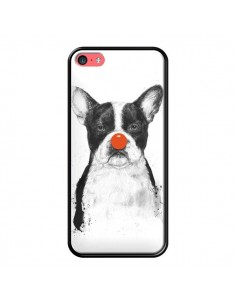 Coque Clown Bulldog Chien Dog pour iPhone 5C - Balazs Solti